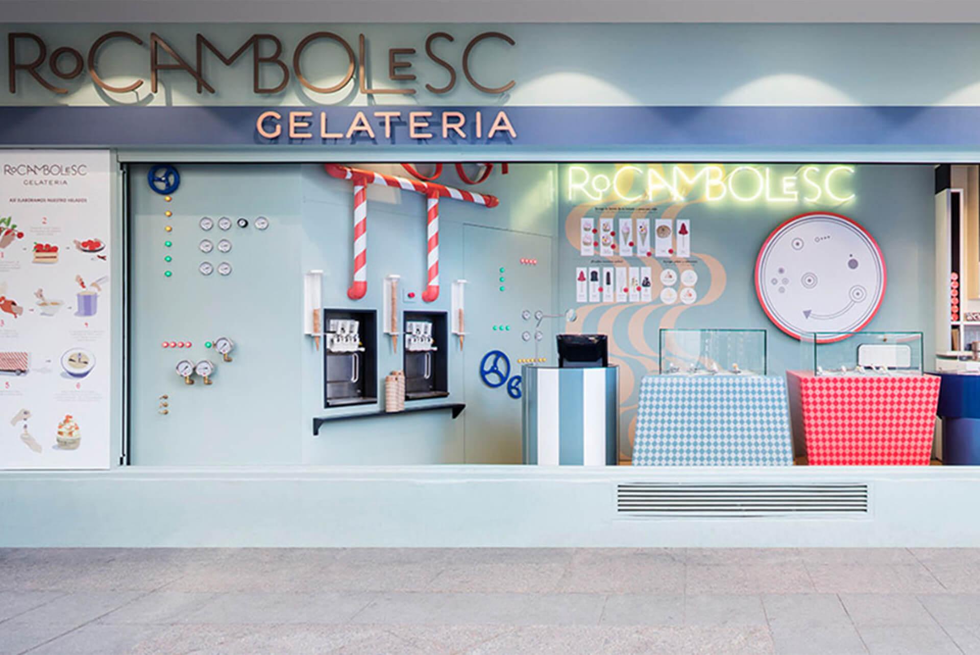 Heladería Rocambolesc | Carpintería Mabima, Alicante