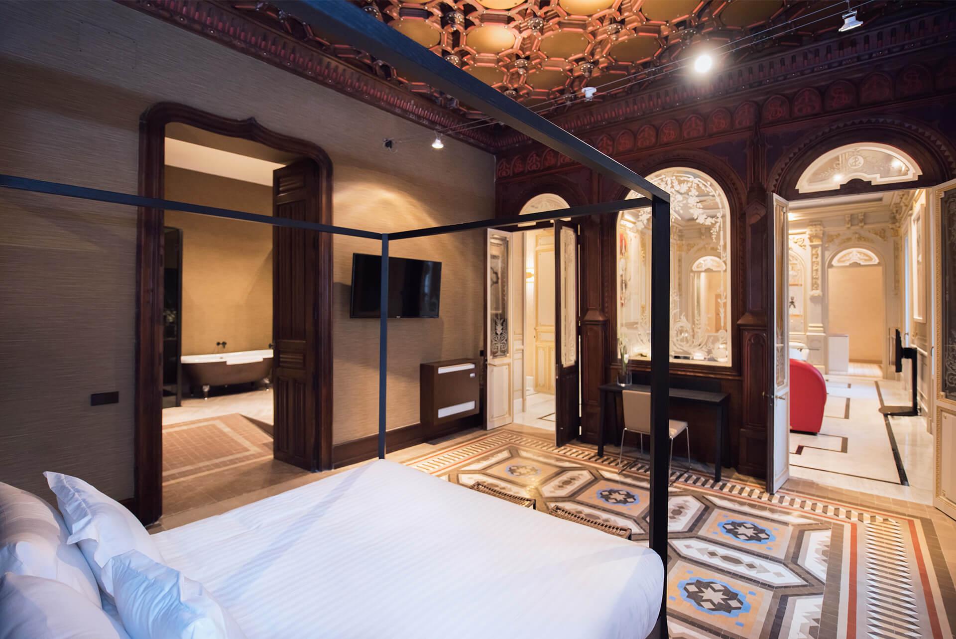 Palacio Salvetti, Suites | Carpintería Mabima, Alicante