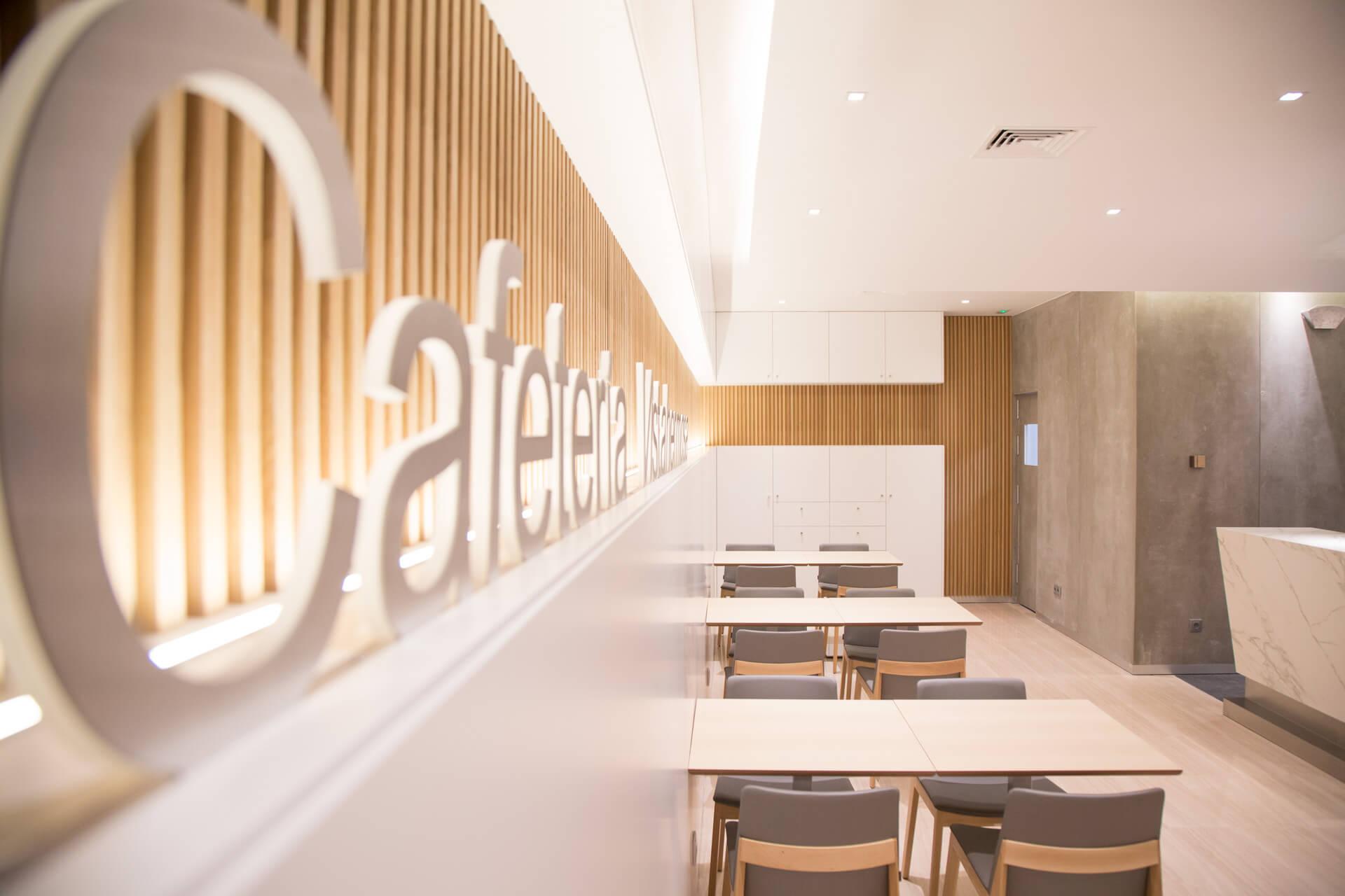 Cafetería Clínica Vistahermosa | Carpintería Mabima, Alicante